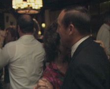 Close up of dancing couple Stock Footage