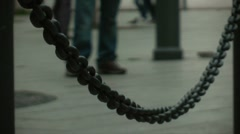 Heavy chain Stock Footage