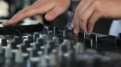 DJ Mix Stock Footage