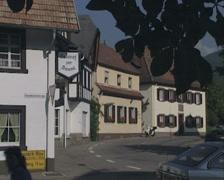 Sign for Gasthof zur Sonne Stock Footage