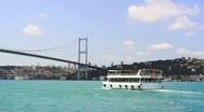Bosporus, Istanbul Stock Footage