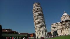 Italy, Tuscany, Pisa, Piazza dei Miracoli Stock Footage