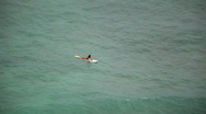 Stock Video Footage of Surfer Waiting 01  HD