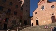 Italy, Tuscany, San Gimignano Stock Footage