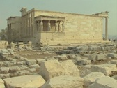 View of old temple Stock Footage