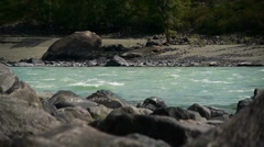 Mountain river 2 Stock Footage