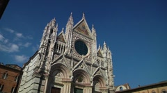 Italy, Tuscany, Siena, Cathedral Stock Footage