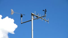Stock Video Footage of weather station