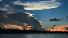 Green Turtle Key, Bahamas- Sunset.mp4 Stock Footage