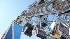 Tumble Ride at the County Fair (V.01) - stock footage