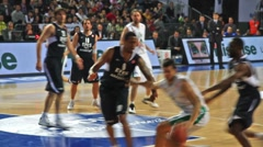 Siena vs Anadolu Efes Stock Footage