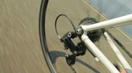 Bicycle chain and gears Stock Footage