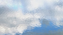Rippling Reflections Cloud Water Texture 1a Stock Footage