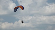 HD Air Show, Power Paragliding, Extreme Sport, Adventure, Recreation, Nature Stock Footage