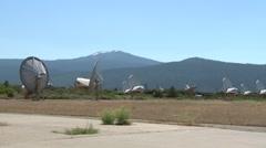 SETI installation site Stock Footage
