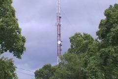 Radio Tower Stock Footage
