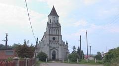 Kostel zabolotiv 1 Stock Footage