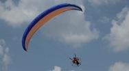 Parachutist, Parachute, Paragliding, Extreme Sport, Adventure, Recreation Stock Footage