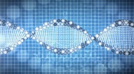 Stock Video Footage of Animated background of DNA
