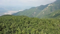 Bursa, Uludağ, Teleferik, Aerial Ropeway 2 - stock footage