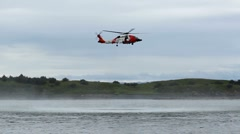 Coast Guard Alaska ED Stock Footage