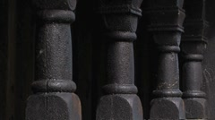 Stave Church in Norway Stock Footage