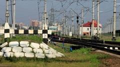 train - stock footage