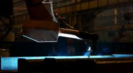 Welding robot 12 Stock Footage
