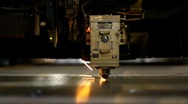 Stock Video Footage of Industrial laser 008