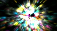 Shine stars and soap bubbles with blur rays light laser,fireworks and waterdrop Stock Footage