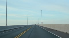 Confederation bridge. Stock Footage
