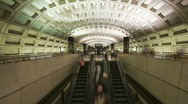 Stock Video Footage of Washington DC Metro Rail / Subway