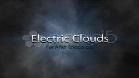 After Effects Project - Pond5 Electric Clouds With Audio Track 8553615