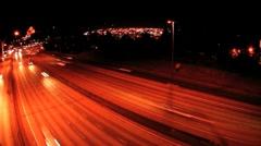 Freeway drive Stock Footage