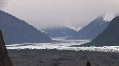 Scenic view of mountains in Alaska (HD) k - stock footage