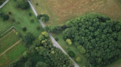 Countryside Road - Hover Stock Footage