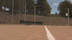 Kids at the baseball field Stock Footage