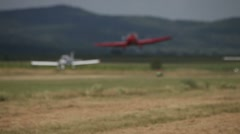 Aerobatic Display Stock Footage
