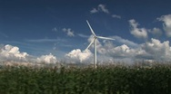 Windmills-24b Stock Footage