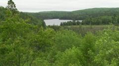 Algonquin Provincial Park Stock Footage