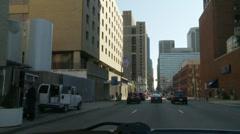 downtown Philadelphia1 - stock footage