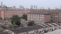 London City View Stock Footage