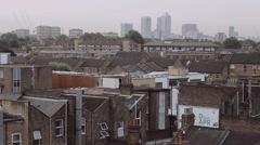 London City View (static) Stock Footage