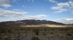 Death Valley Landscape Stock Footage