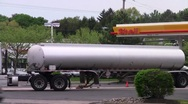 Gas tanker 2 Stock Footage
