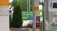 Gas station11 Stock Footage