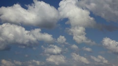 Time lapse clouds 9 HD 1080p Stock Footage