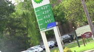 Gas station23 Stock Footage