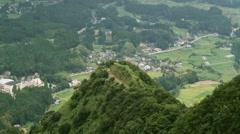 Mountain Time Lapse - Japan - stock footage