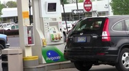 Gas station3 Stock Footage